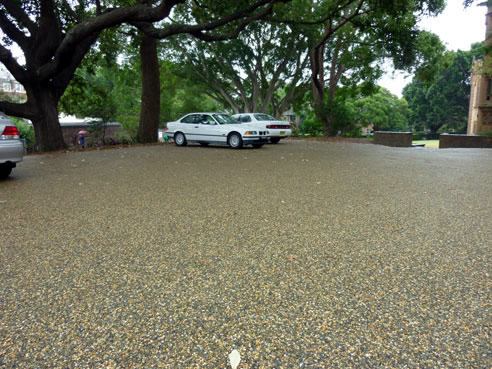 Permeable Car Park Surface With Superstone Mps Paving