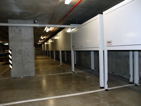 Apartment Storage Unit Queen Bed Vs Full Home Interior