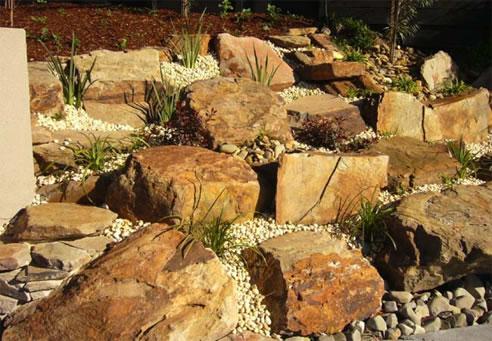 Garden Design Garden Design with Fibreglass Feature Garden Rocks