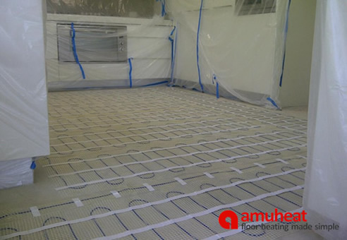 Heated Floor Tile Thin Floor Heating Under Tile Stone Floors Amuheat