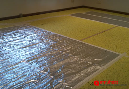 Efficient Under Carpet Floor Heating Systems Amuheat