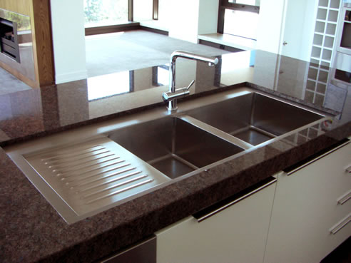 steel customised designer kitchen sinks britex bundoora vic 3083