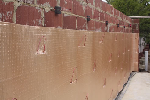 Cavity wall insulation permicav from kingspan insulation - Double brick cavity walls ...
