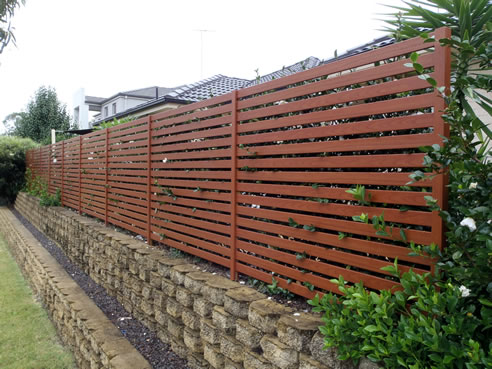 Resifence Aluminium Fencing With Timber Look From Knotwood