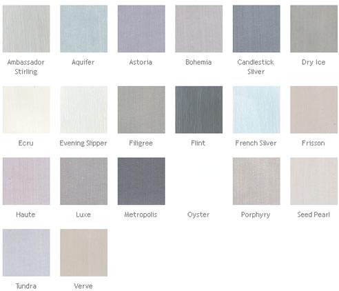Porter Chalk Paint Colours