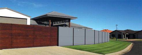 Alloy Modular Fence Panel Walls Wallmark Australia