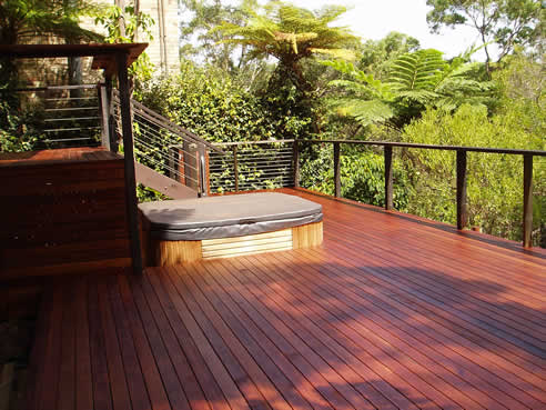 Timber decking bransons building materials taren point nsw 2229 - Suitable materials for decking ...