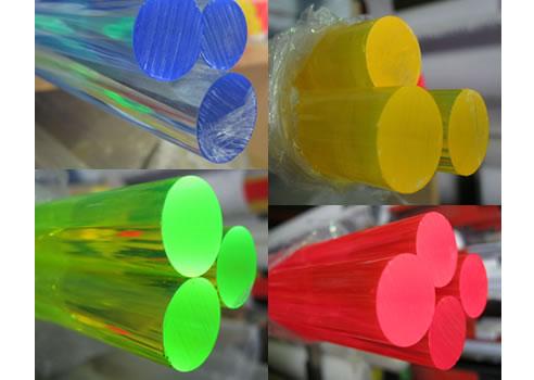 Fluorescent Perspex 174 Sheets And Rods Allplastics