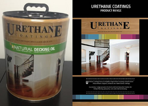 urethane coatings decking oil and product range brochure