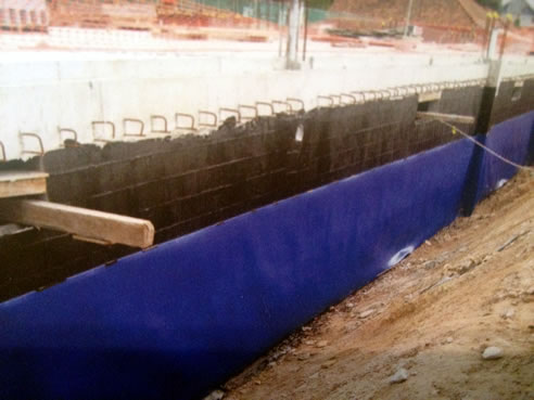 Protection Board For Waterproofing Membranes F E W