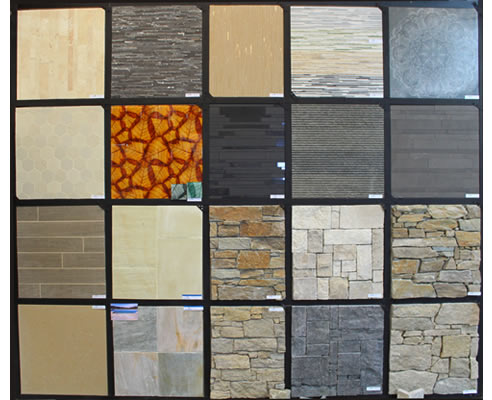 Tile and stone feature walls mdc mosaics for Feature wall tile ideas