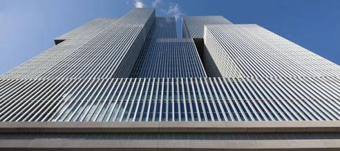 Facades For Vertical City Construction Permasteelisa