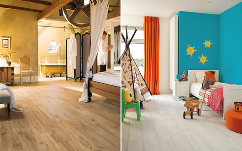 timber laminate flooring in bedrooms
