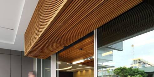 External Modular Timber Panels From Screenwood
