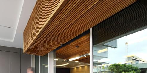 External Modular Timber Panels From Screenwood