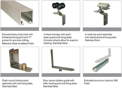 Internal Folding Door Track System Cowdroy