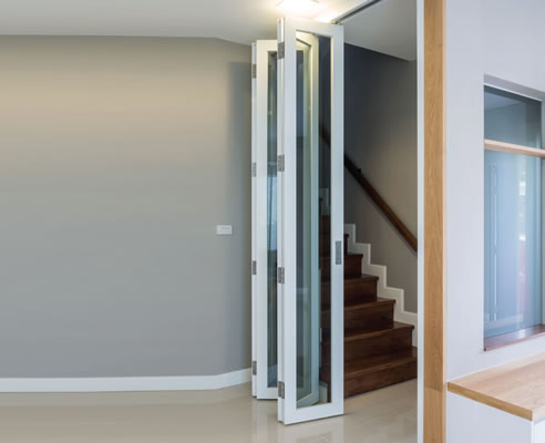 Internal folding door track system cowdroy for Internal folding doors systems