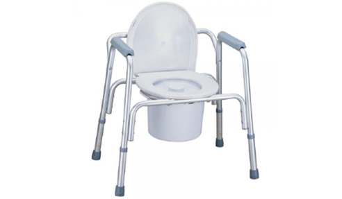 Aluminium Over Toilet Frame and Bedside Commode | Aged Care Friendly