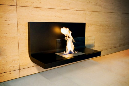 Wall-mounted fireplaces from Ambience Eco Fires