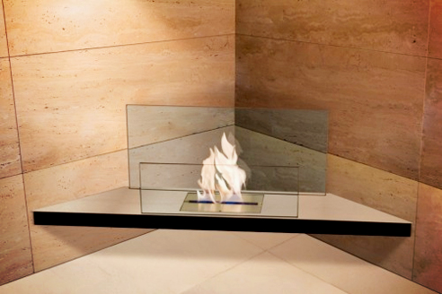 Bioethanol fireplaces from Ambience Eco Fires