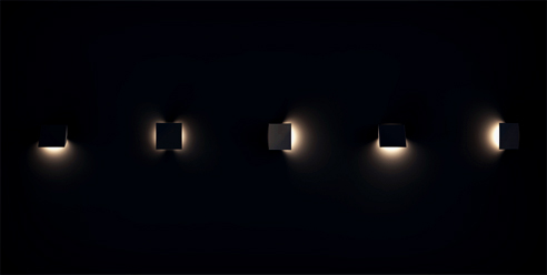New collection of LED wall lights from Brightgreen