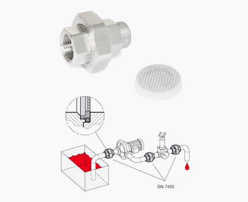 GN 7405 strainer fittings from D&D Barry