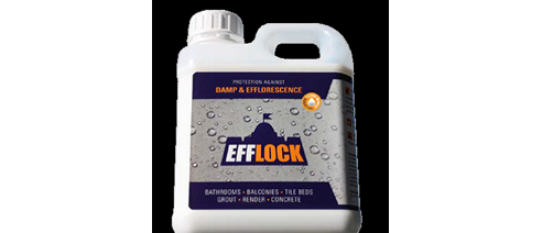 Efflock grout sealer from MDC Mosaics and Tiles