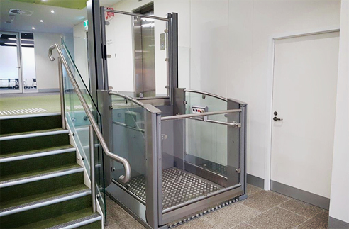 Disabled access lifts from RAiSE Lift Group