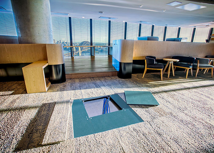 Concore Raised Access Floor System from Tate