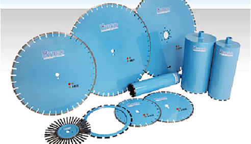 Diamond Concrete Cutting Equipment