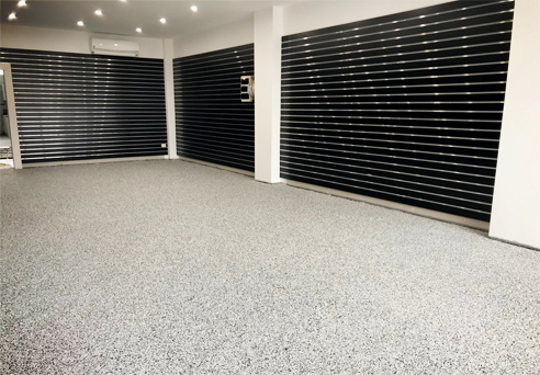 Showroom flooring from LATICRETE