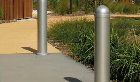 Galvanised Steel Safety Bollards