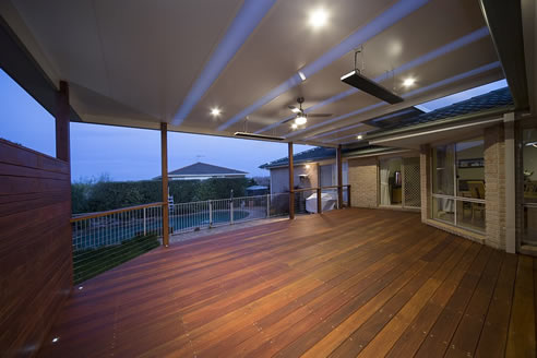 verandah fibreglass skylight strips