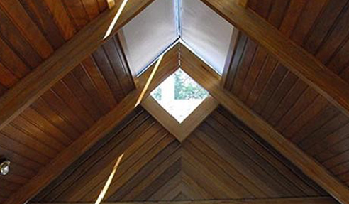 Interior Comfort and Design with Custom Motorised Skylight Blinds
