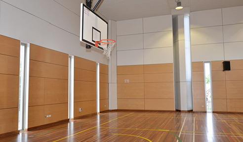 Panels Meet DET Guidelines for School Gym