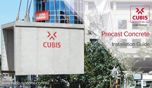 Precast Concrete Install Guide from CUBIS Systems