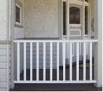 Primed Treated Pine Railing