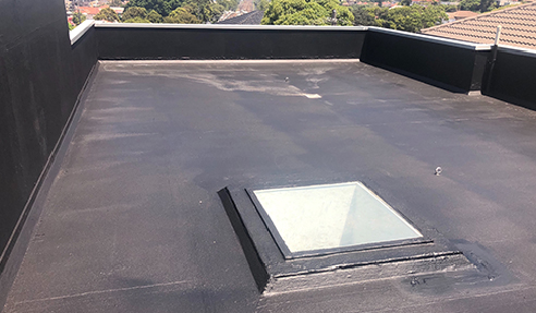 Neoferma Remedial Waterproof Rooftop Spray Application