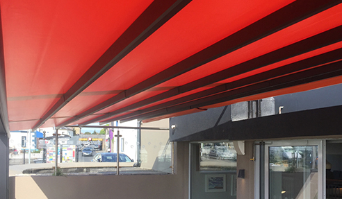 Retractable Pergola Shade Systems by Designer Shade Solutions