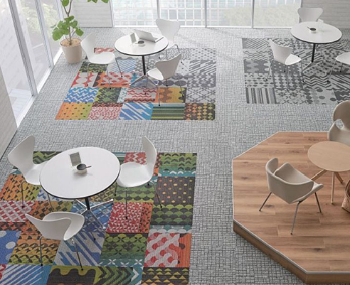 Unique 'One-Off' Pattern Flooring from Nolan Group