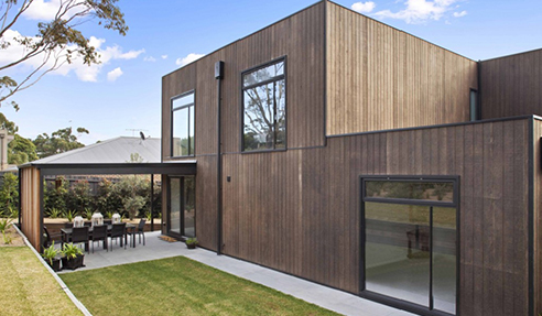 Weathertex Natural Weatherboards from Hazelwood & Hill