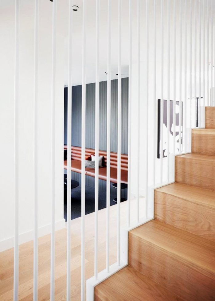 Bespoke Staircases with Linear Elements by S&A Stairs