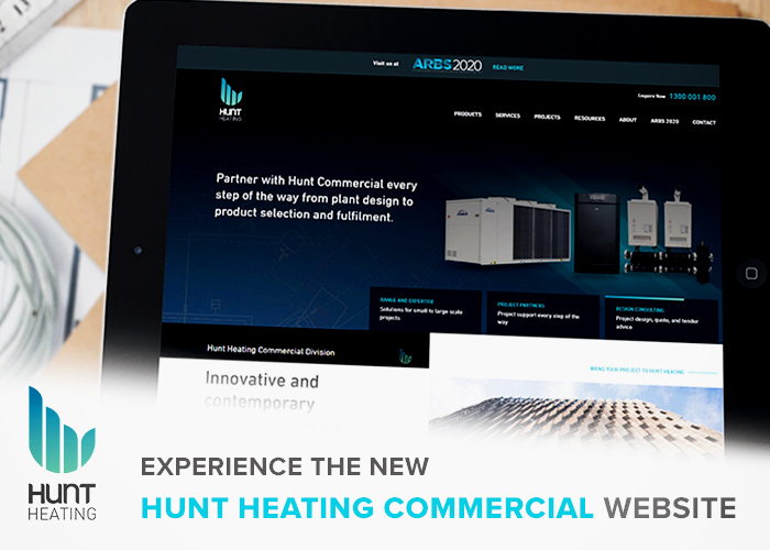Commercial Heating & Cooling Products from Hunt Heating