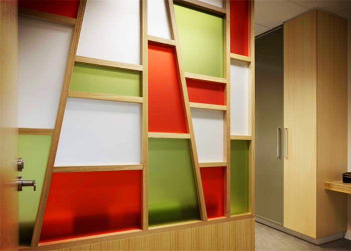 Perspex Frost for Interior Design Projects from Mitchell Group