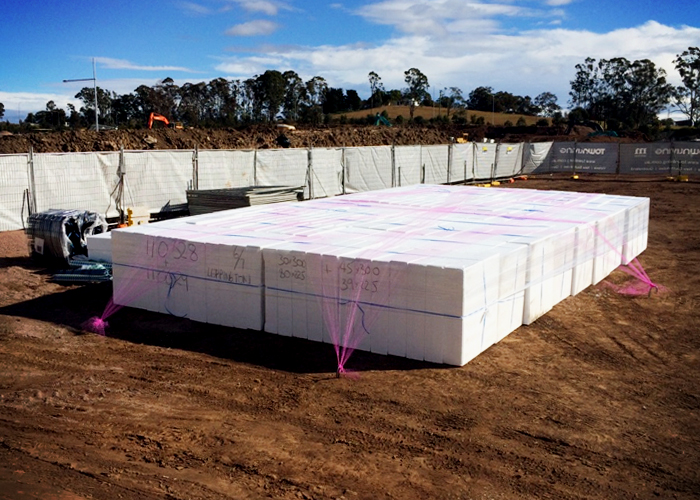 Rigid Polystyrene Blocks Vs Concrete Waffle Pod Slabs by Foamex