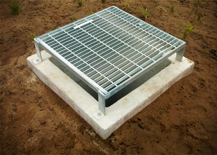 Protected Galvanised Grates - TMR-GalSpec by EJ