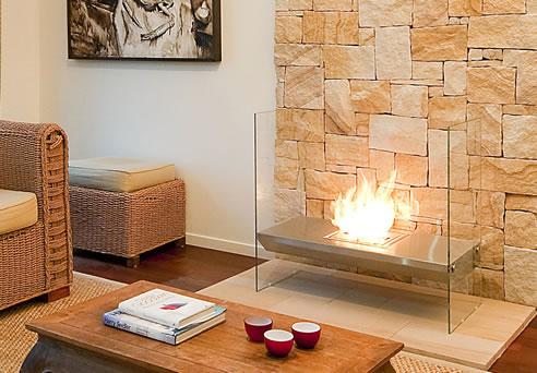 Ecosmart Fire Igloo Freestanding Ethanol Fireplace