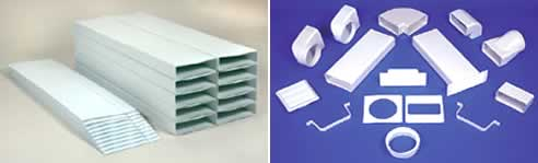Flatpack Low Profile Duct System From Fantech