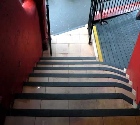Global Safe Technologies Non Slip Strips Solve Slippery Surface Liabilities