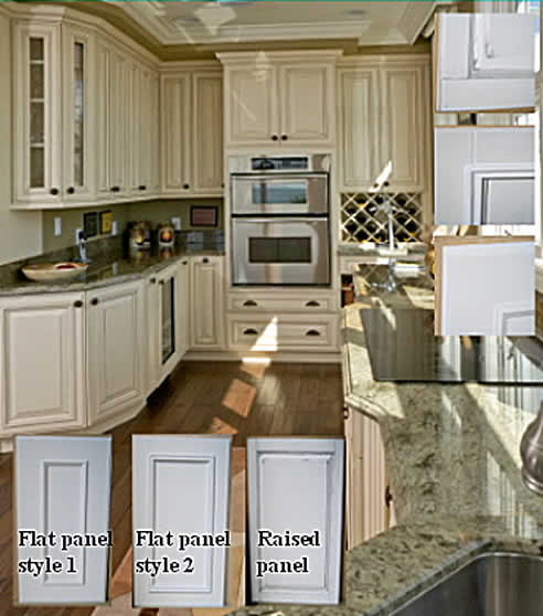 Country style kitchen doors from Duric Industries